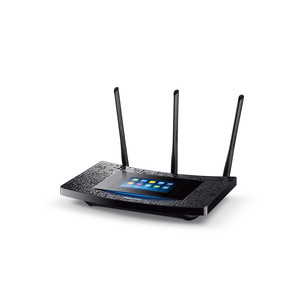 TP-Link Touch P5 AC1900 Touch Screen WLAN Gigabit Router, Black