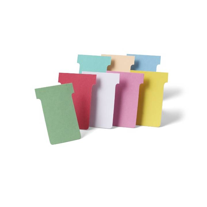 NOBO T cartes enfichables taille 1 rose (100)