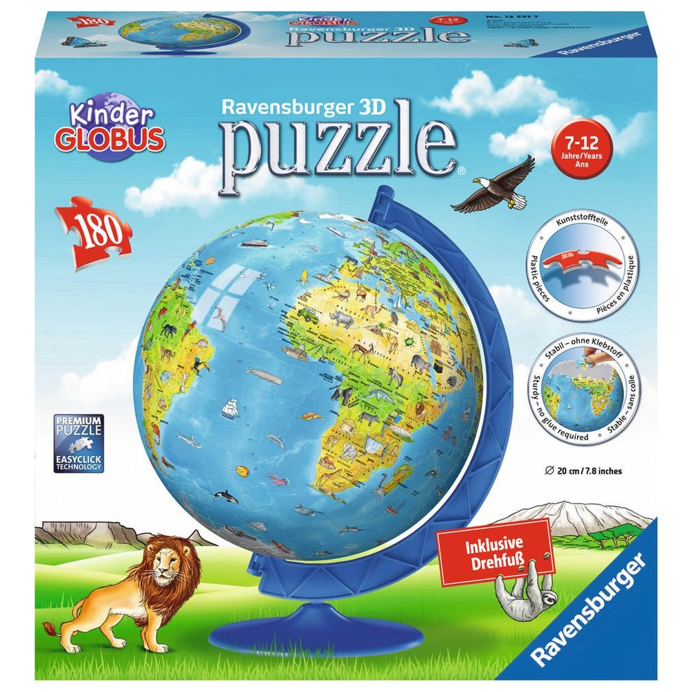 RAVENSBURGER 3D Puzzle Kindererde deutsch 2017