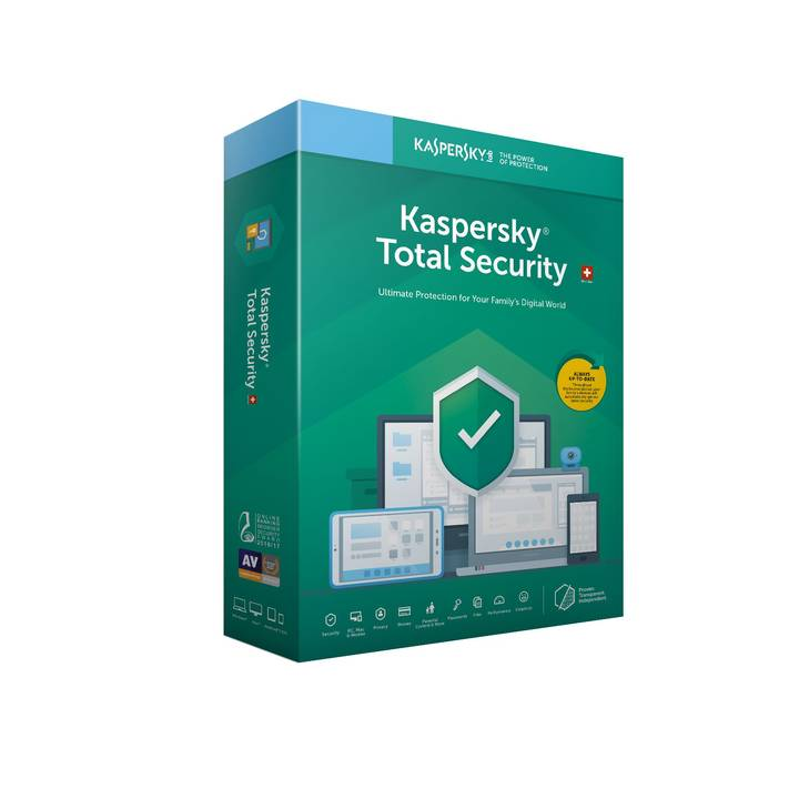 KASPERSKY LAB Total Security Upgrade Swiss Edition 2019 (version DFI)