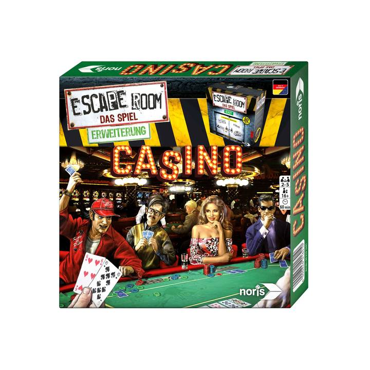 Escape Room Casino Alter: 16+, für 2-5 S