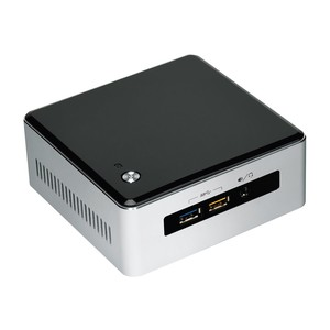 INTEL NUC Kit NUC5i5RYH Mini-PC, i5, Silver/Black