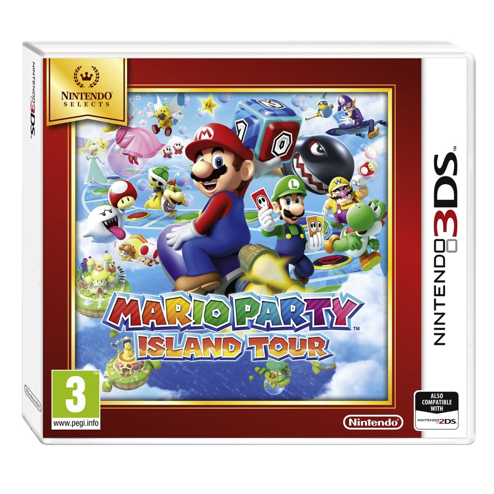 Mario Party Island Tours Selects