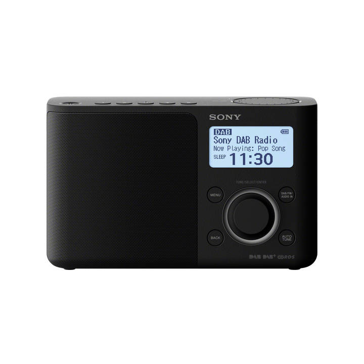 SONY XDR-S61D Black