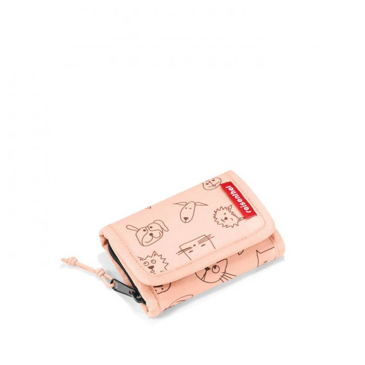 REISENTHEL Portemonnaie Wallet S Kids Cats and Dogs Pink
