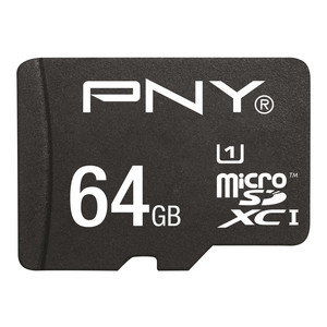 PNY Micro SDXC 64 GB + Adapter