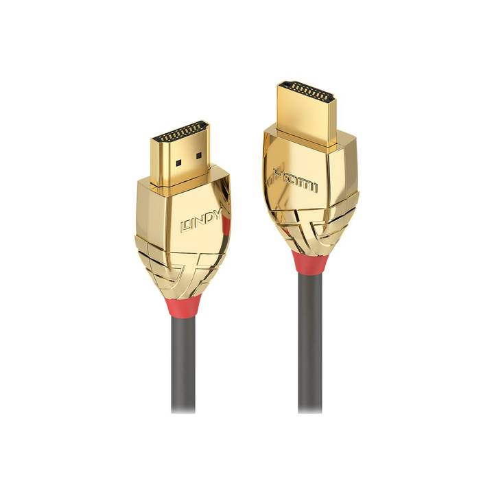 LINDY 5m High Speed HDMI Cable, Gold Lin