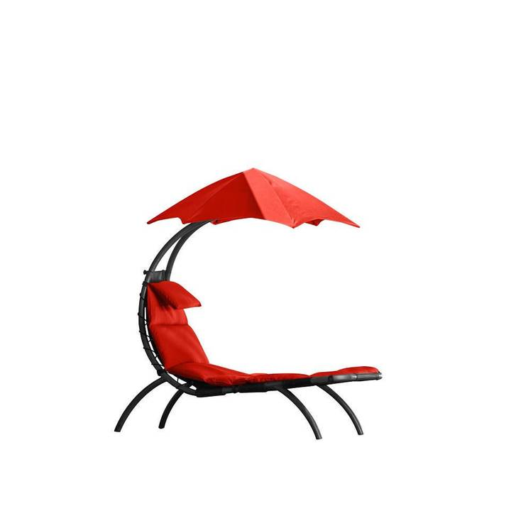 VIVERE Dream Lounger Cherry Red