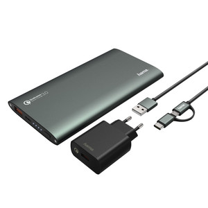 HAMA Quick Charge 3.0 Powerbank 10000 mAh