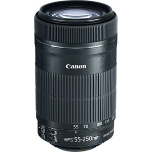 CANON EF-S 55 - 250 mm f/4,0 - 5,6 IS STM