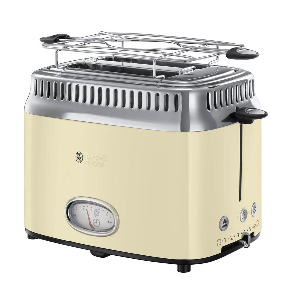 Russell Hobbs Retro Toaster 21682-56 cre