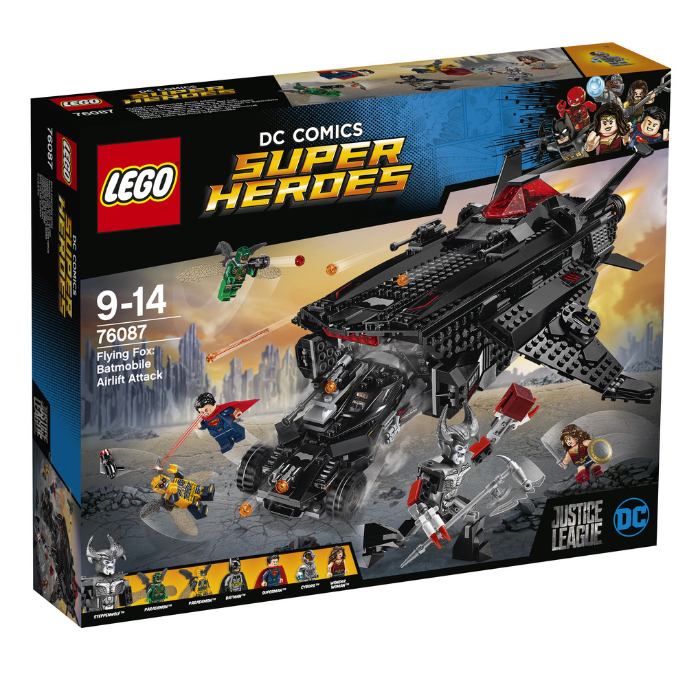 LEGO DC Comics Super Heroes Flying Fox: Batmobil-Attacke aus der Luft (76087)