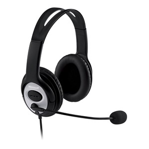 MICROSOFT Over-Ear Headset LifeChat LX-3000 Black