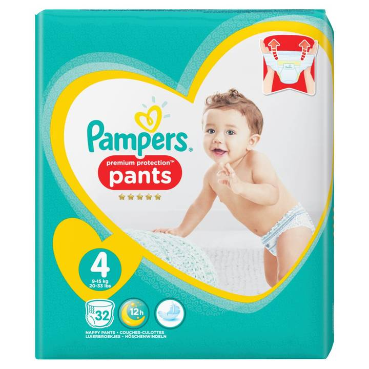 PAMPERS Windeln Premium Protection Sparpack Grösse 4