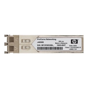 HP SFP (Mini-GBIC) Transceiver Modul 1000Base-LX-LC, Silver