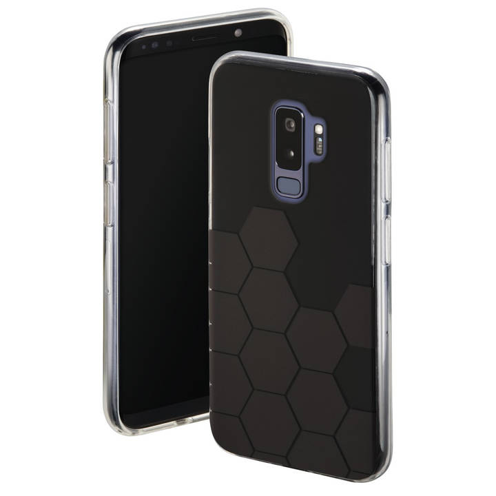 Cover Hexagon für Samsung Galaxy S9+, Sc