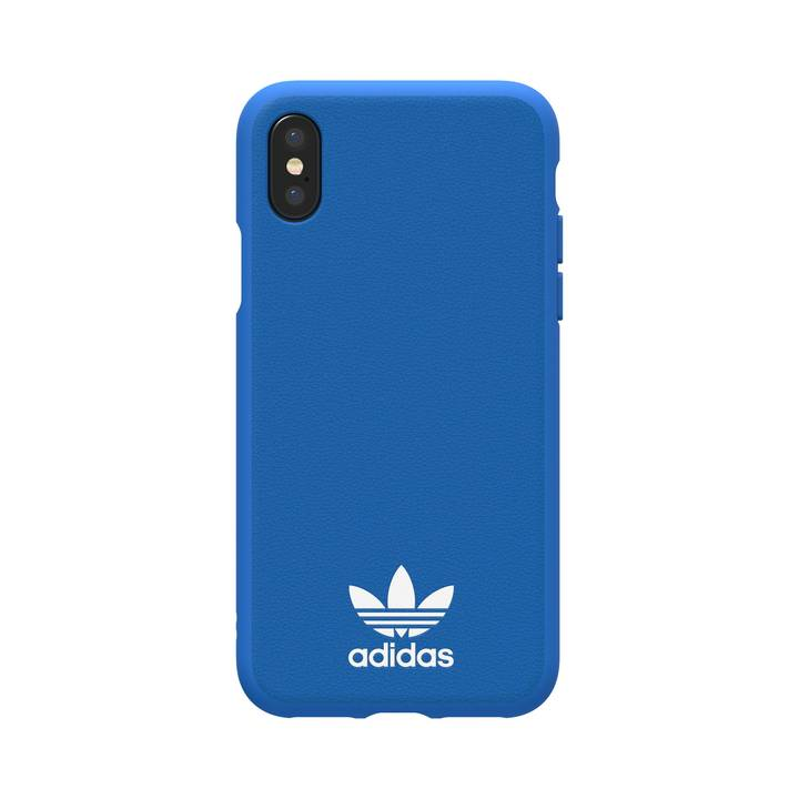 Adidas original Moulded Case blau/weiss