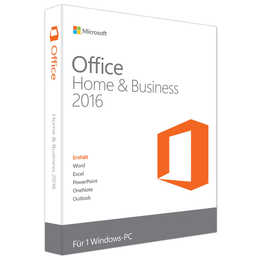 MICROSOFT Office Home and Business 2016 ESD (DE)