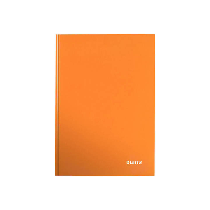 LEITZ Notizbuch WOW A5 kariert, 90g orange