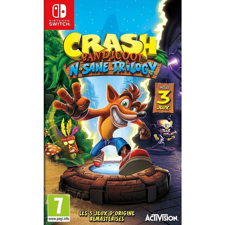 Crash Bandicoot N. Sane Trilogy (FR)