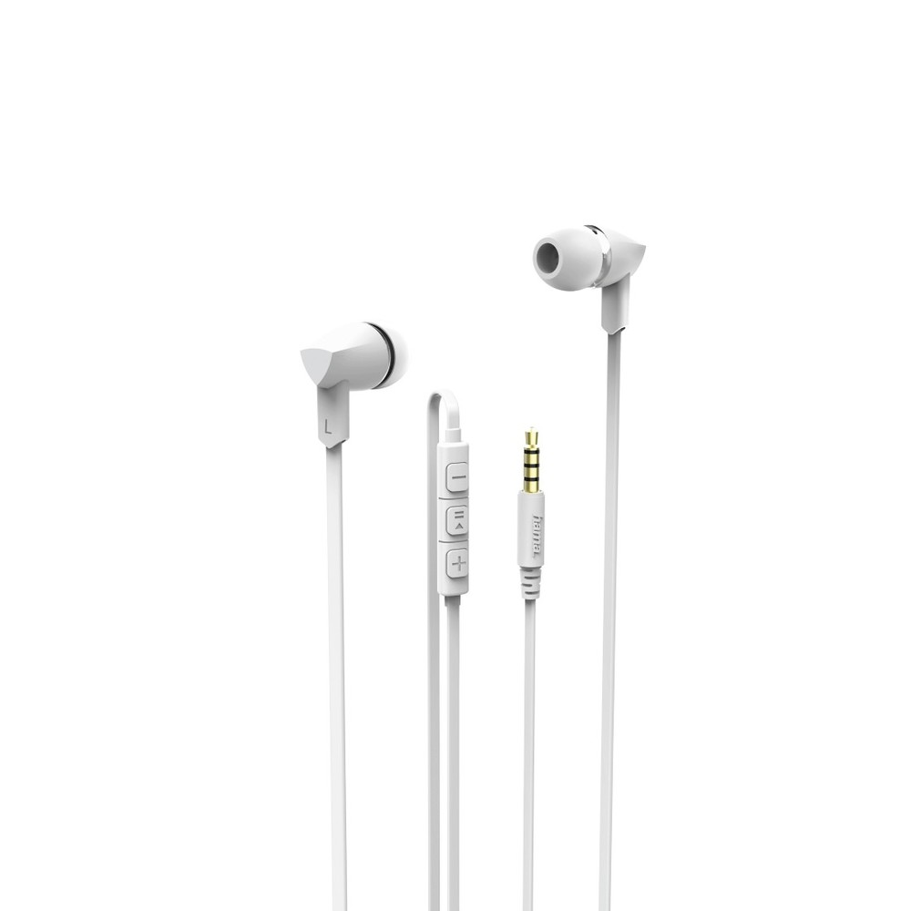 HAMA In-Ear Kopfhörer Basic+ White