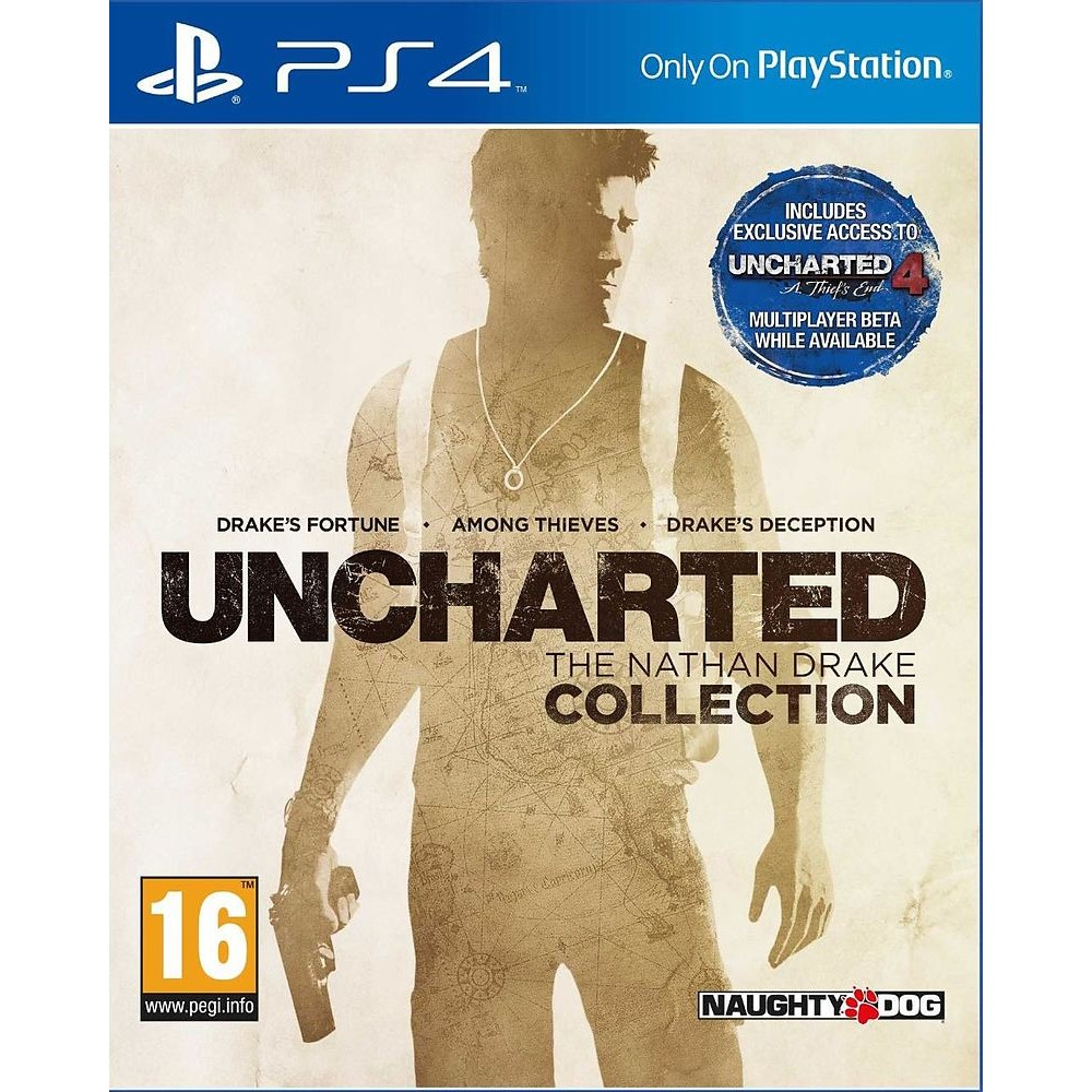 Uncharted - The Nathan Drake Collection inkl. Uncharted 4 MP Beta (Ex Trilogie)
