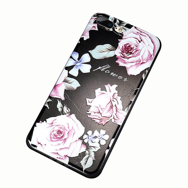 EG FLOVEME Backcover für Apple iPhone XR - Flowers_Grace