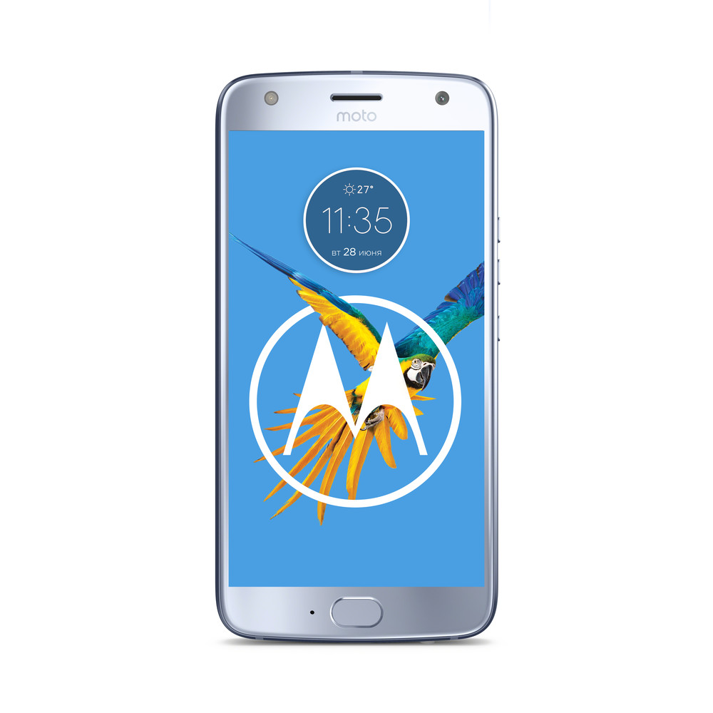 "Motorola Moto X4 blue DS, 5.2"", 2.2GHz O"