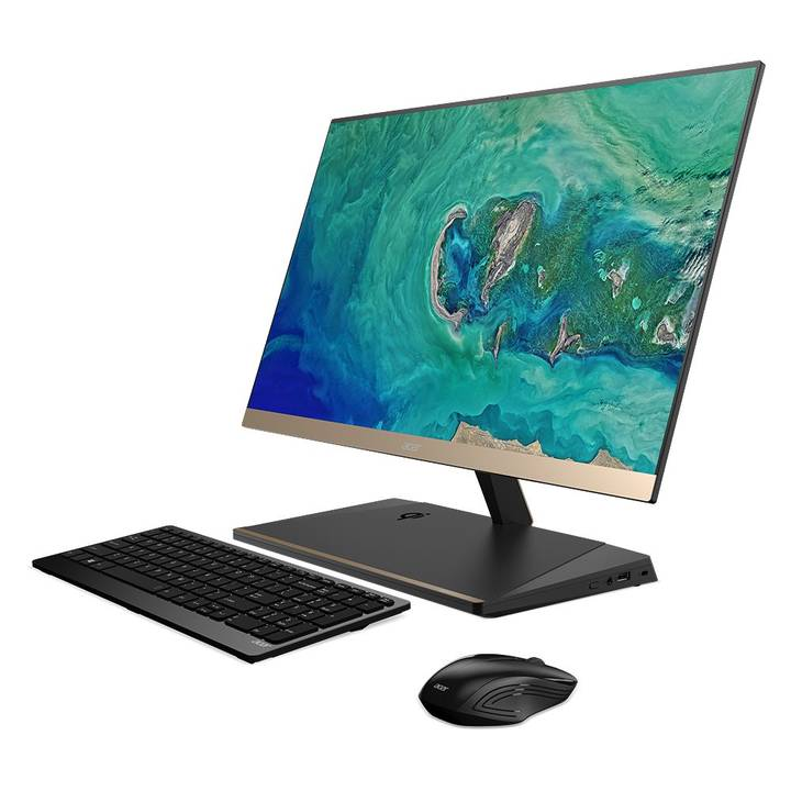 """ACER ASPIRE S24-880 - All-in-One (Komplettlösung) - Core i7 8550U 1.8 GHz - 16 GB - 1.256 TB - LED 60.5 cm (23.8"""")"""