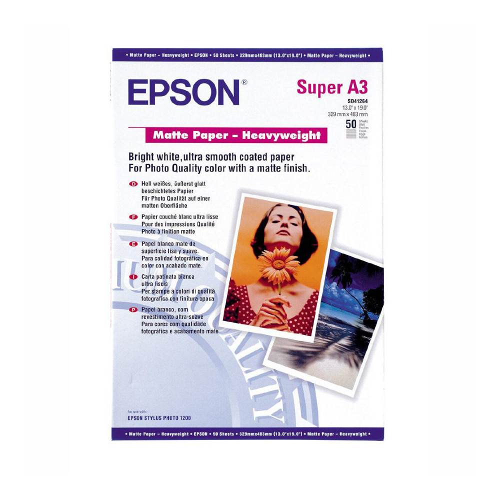 EPSON Matte Paper-Heavy Weight