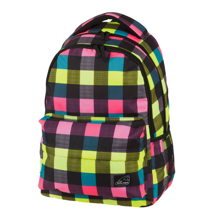 Sac à dos WALKER Chap Classic Neon Checks