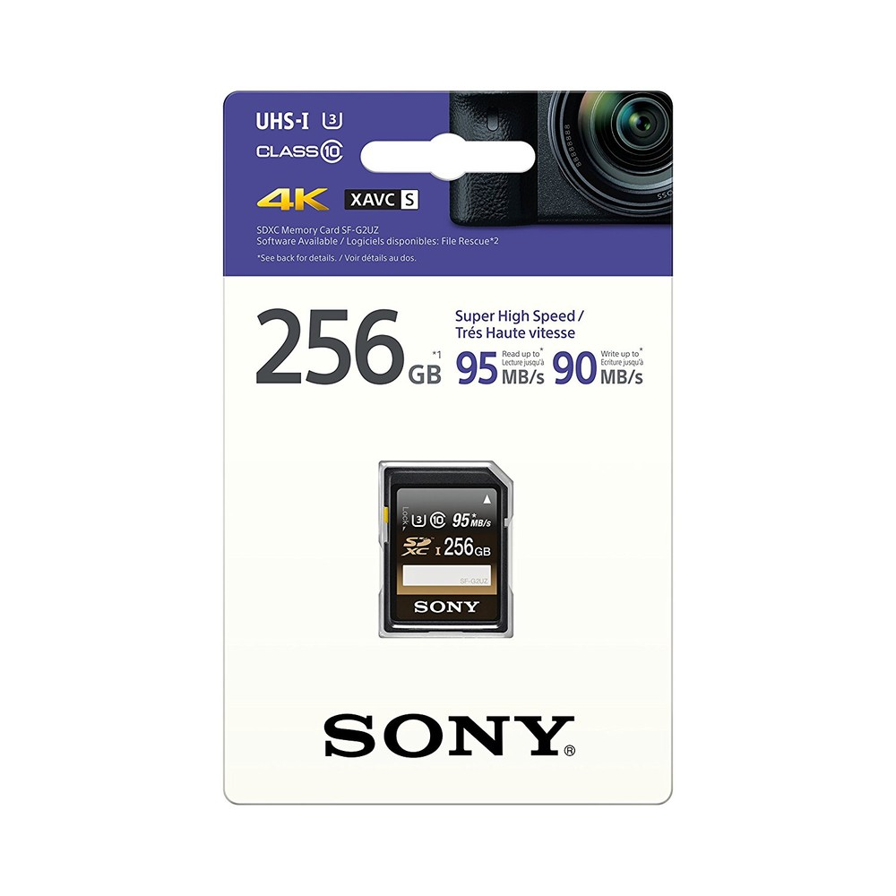 Sony Professional SDXC 256GB 95MB/s U3