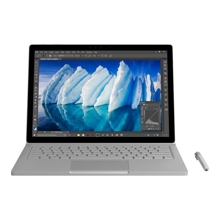 "MICROSOFT Surface Book, 13.5"", i7, 8 GB RAM, 256 GB SSD"