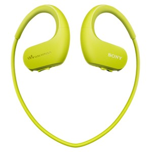 SONY Digitalplayer Headset NWWS413G.CEW 4GB Lime Green