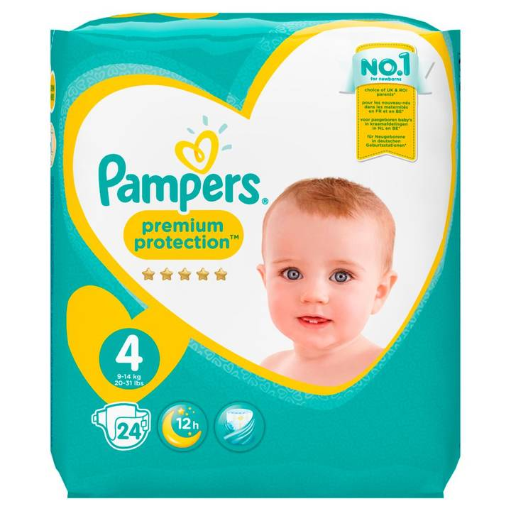 PAMPERS Windeln Premium Protection Tragepack Grösse 4