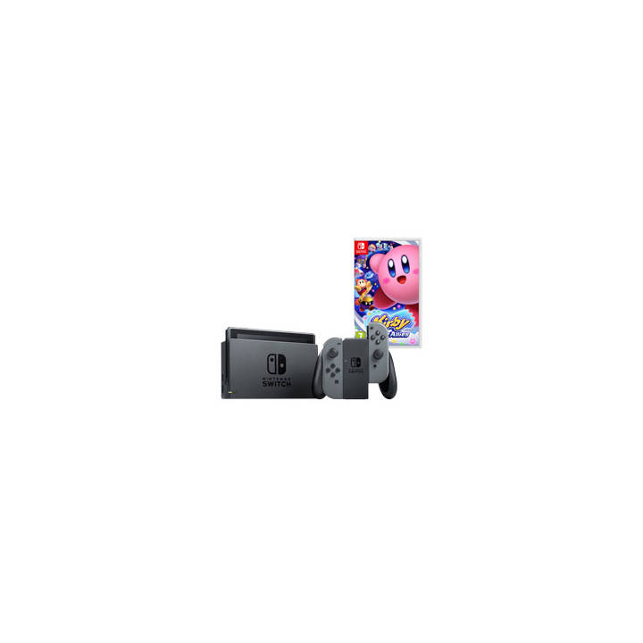 NINTENDO Switch Grey incl. Kirby Star Allies (D)
