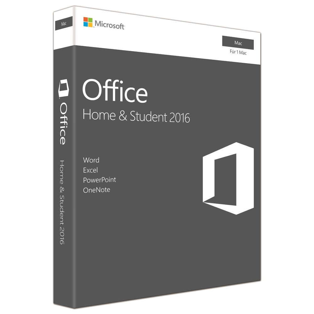 Microsoft Office MAC Home and Student 20