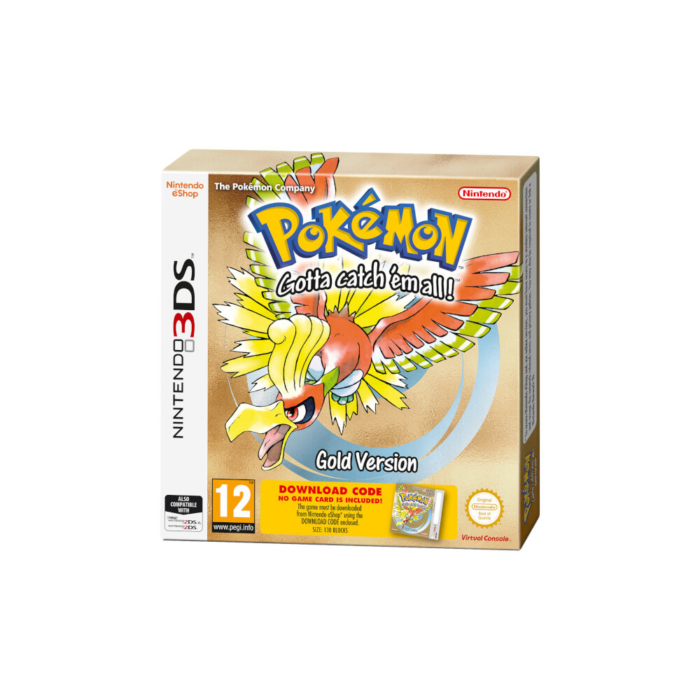 Pokemon Goldene Edition (Code in Box)