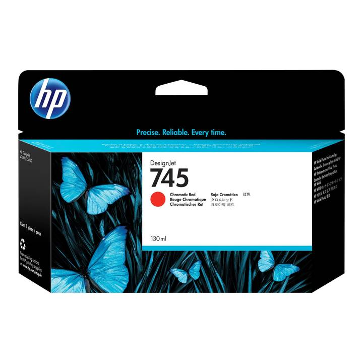 HP Ink Cartr., 745 chrom. red