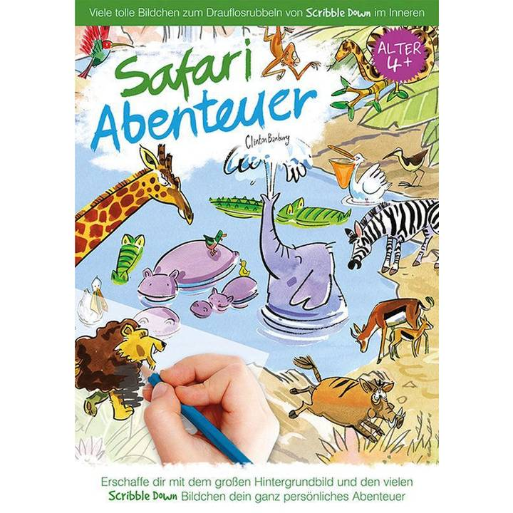 Scribble Down - Safari Abenteuer Alter: