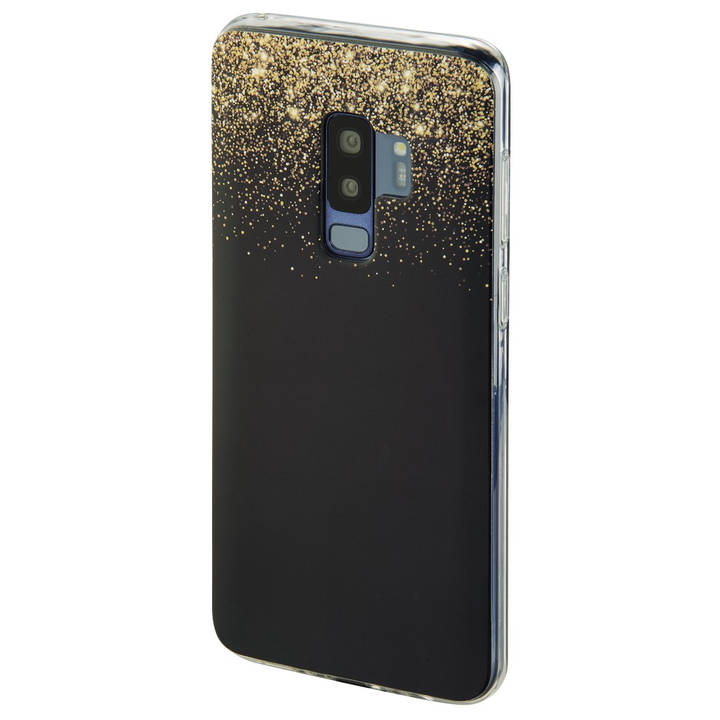 "HAMA Backcover ""Golden Rain"" für Samsung Galaxy S9+"