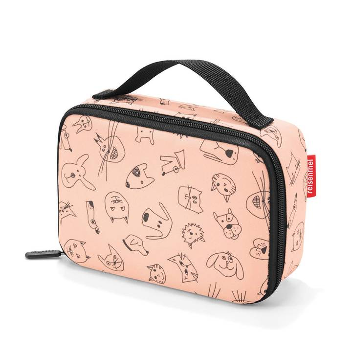 REISENTHEL Lunchbox Thermocase Kids Cats and Dogs Pink
