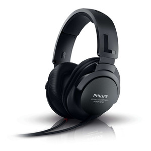 PHILIPS Over-Ear Kopfhörer SHP2600TV/10 Black