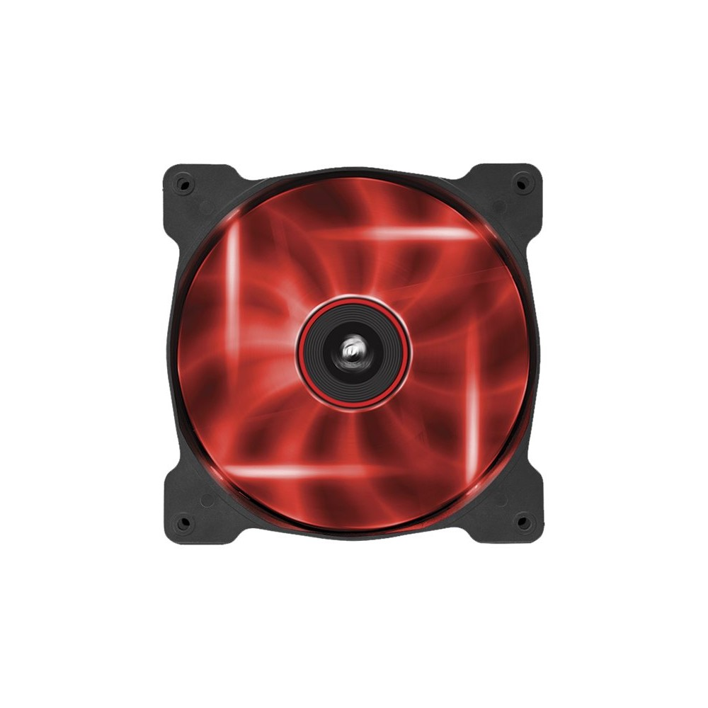 Air Series AF140 LED Red Quiet Edition -