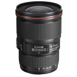 CANON EF 16 - 35 mm f/4,0 4L IS USM