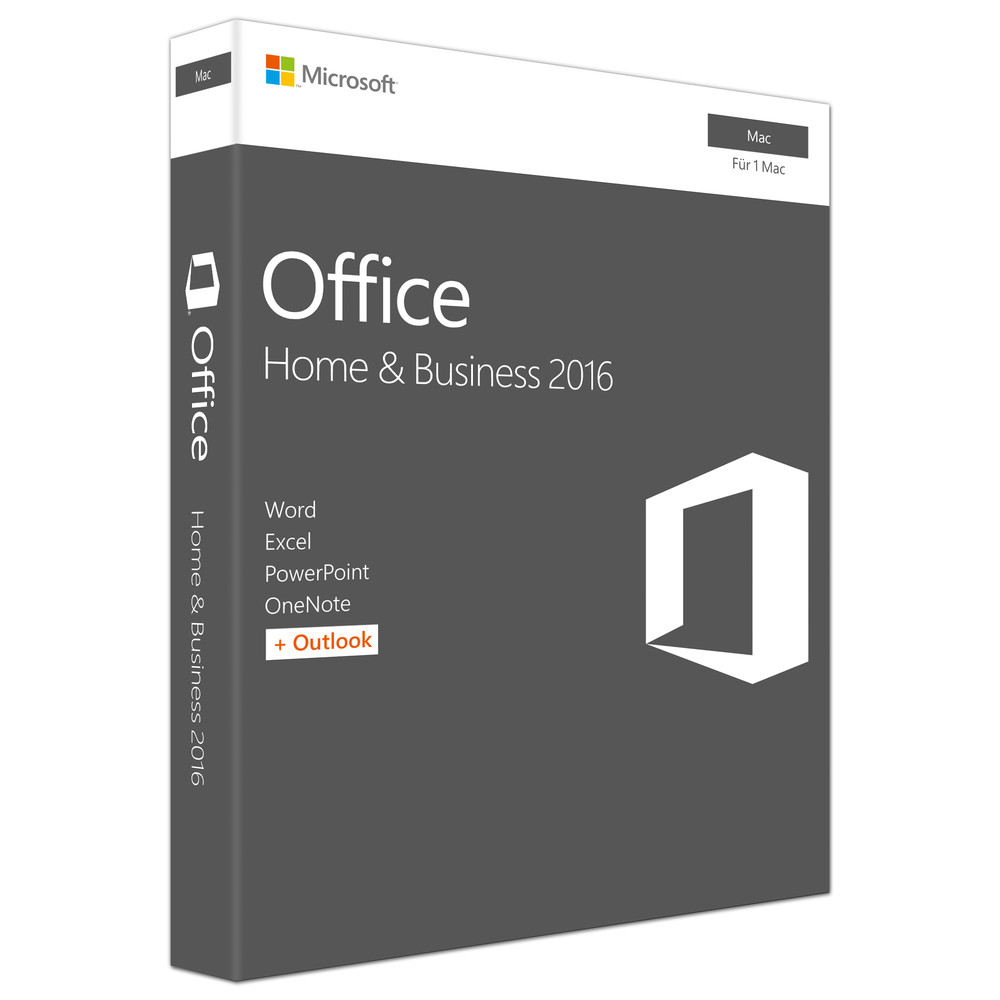 MICROSOFT Office Home and Student 2016 Box Pack für Mac