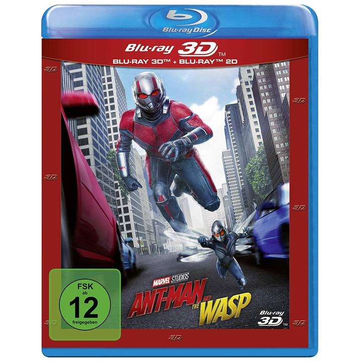 Ant-Man and the Wasp 3D (DE)