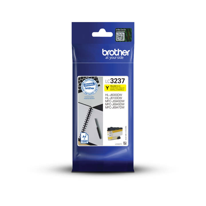Tinte Brother LC-3237Y, yellow 1500S. MF