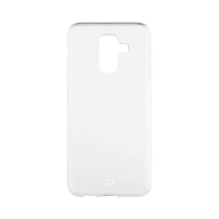 XQISIT Flex Case für Galaxy A6+ (2018) Clear