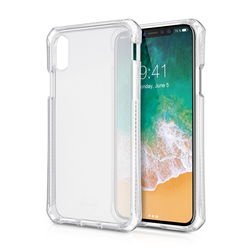 ITSKINS Backcover Spectrum für iPhone X Clear